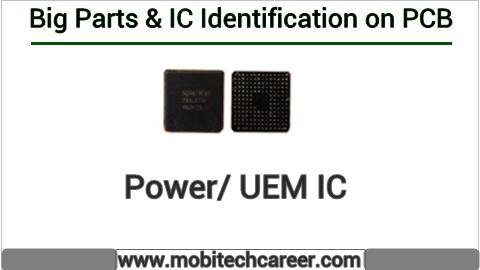 Power IC identification on mobile cell phone smartphone pcb circuit board motherboad | Power IC ki mobile phone pcb par pahchan kaise kare | Power IC की मोबाइल रिपेयरिंग में पीसीबी पर पहचान करना सीखें कार्य व खराबियाँ | मोबाइल रिपेयर करना हिन्दी में सीखें | PCB पर All IC पहचान