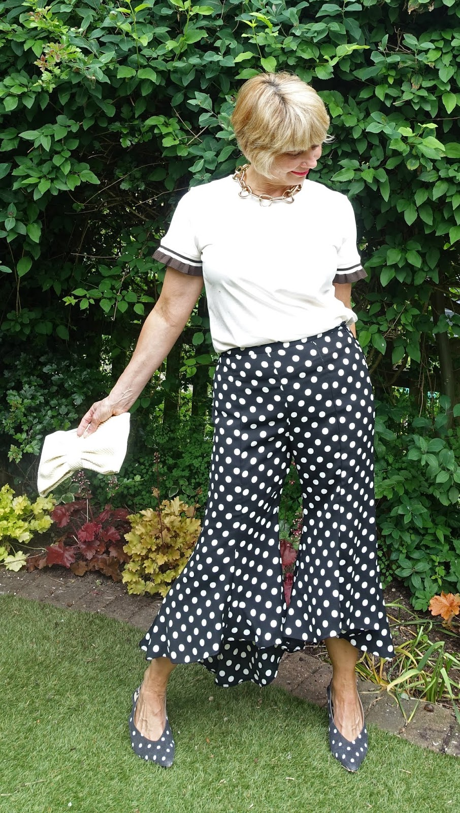 How easy is it to wear cropped and wide trousers if you're over 45?