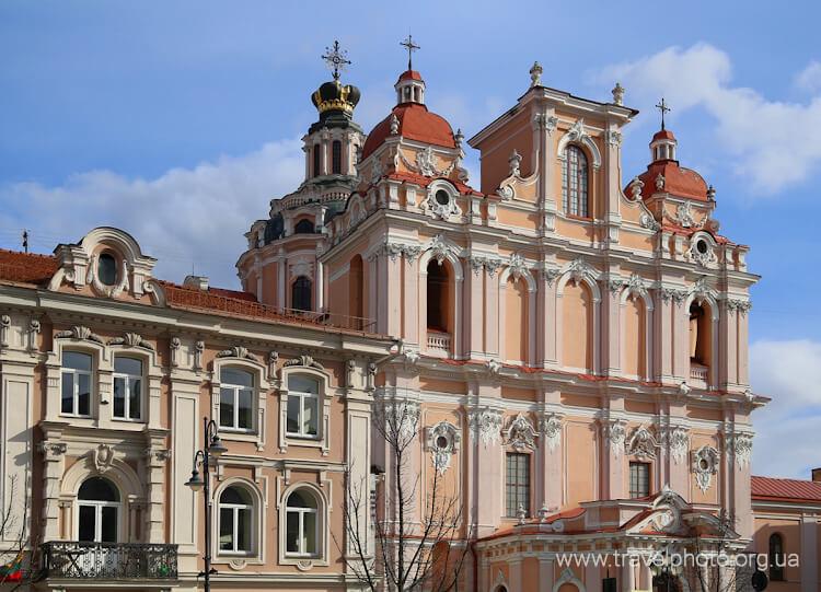 Костел Святого Казимира Вильнюс