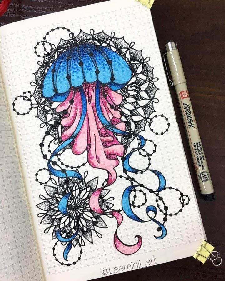05-Jellyfish-Lidiia-Varichenko-www-designstack-co