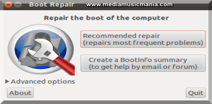 How to Solve Boot Repair Trouble to Linux Versions