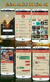Download BBM MOD 37154 V2 APK Terbaru