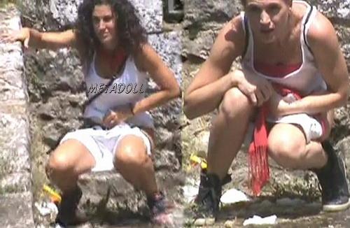 Girls Gotta Go 11 (Spanish Peeing in Public)