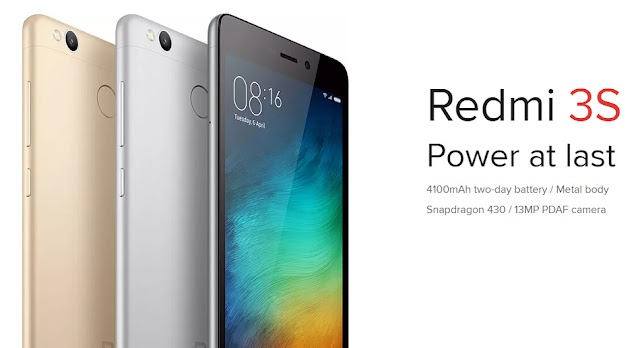 Xiaomi Redmi 3s Global Edition 5 inch 3GB RAM 32GB ROM Snapdragon 430 Octa-core 4G Smartphone For N45,000
