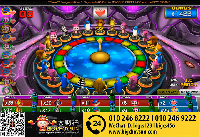 animal band clubsuncity online slot game malaysia 2016