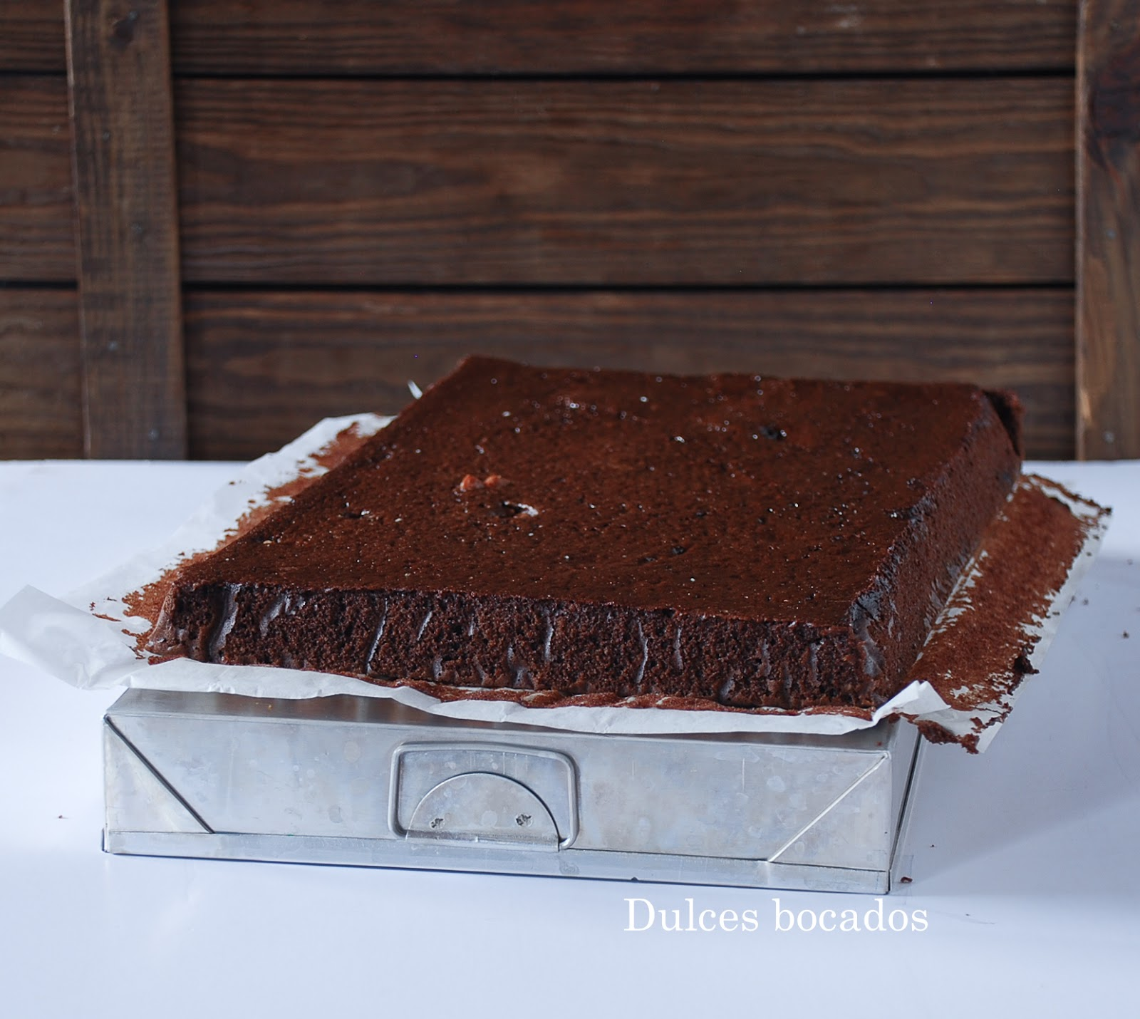 Brownie de cafe y Crocan - dulces bocados