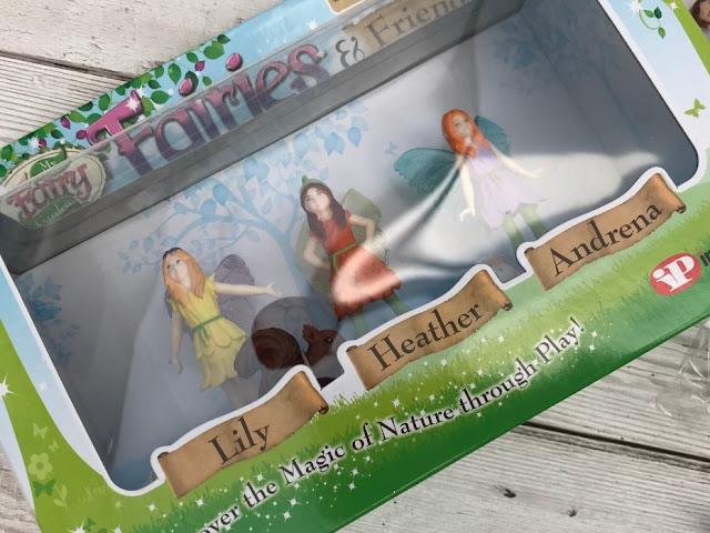 Three fairies in a box