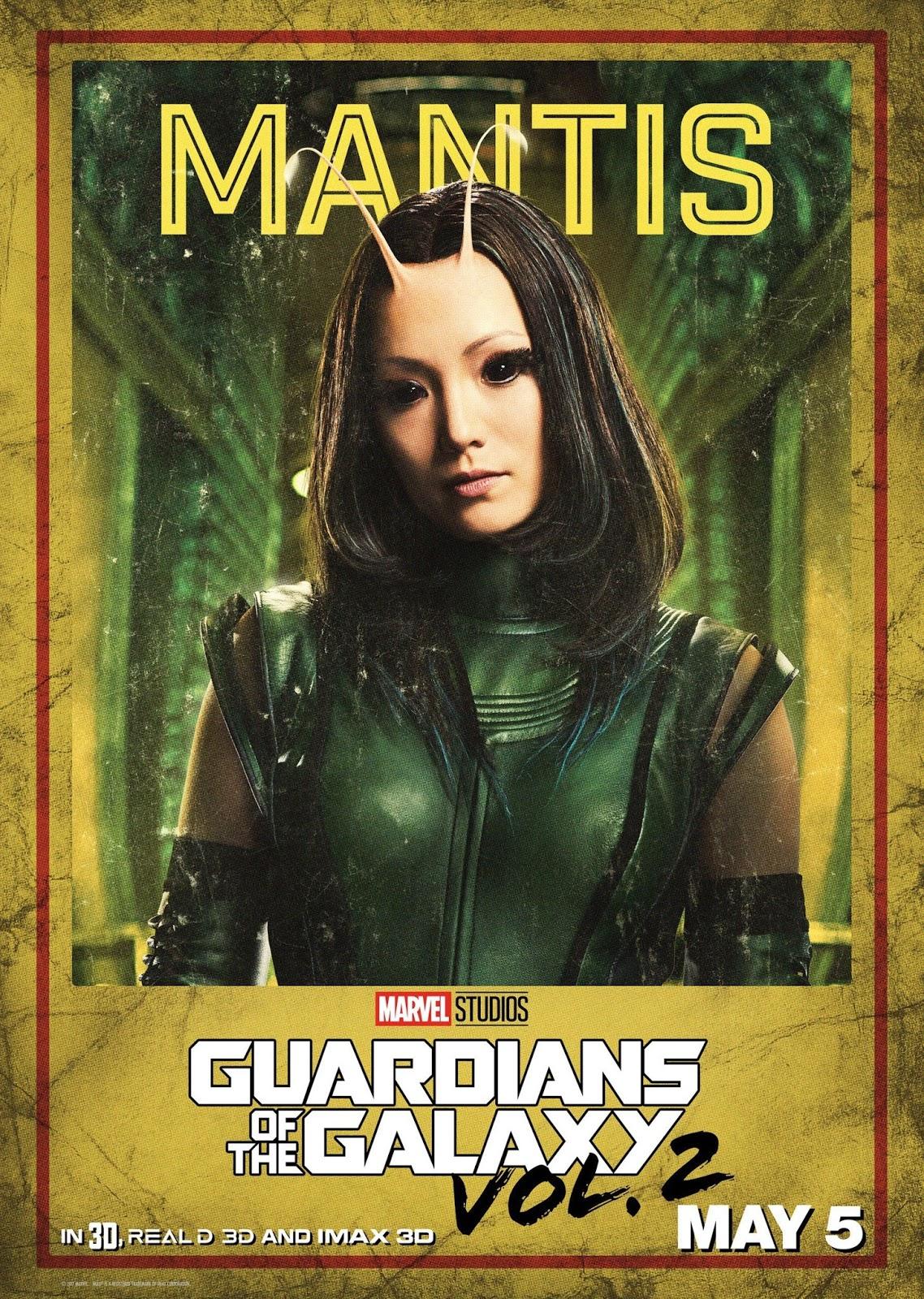 Стражи Галактики Часть 2, Guardians of the Galaxy Vol 2, Мантис, Mantis