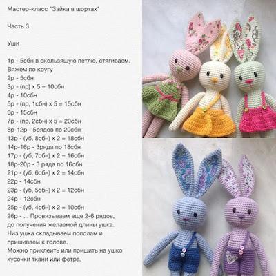 Amigurumi Bunny Free Pattern Amigurumi Free Patterns