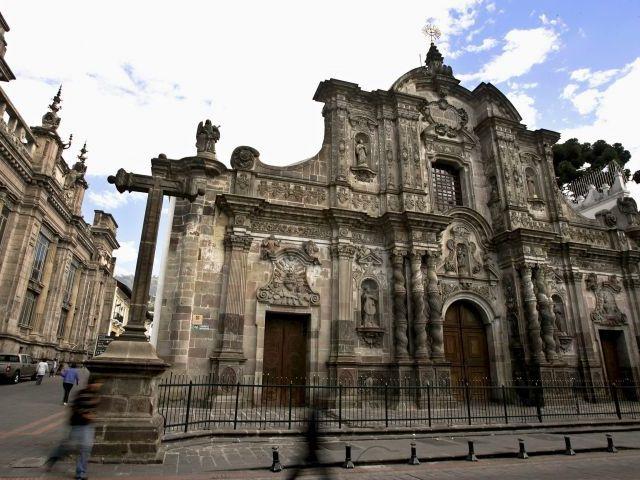 La Iglesia De La Compañía Una Joya Del Arte Barroco En: Historia Del Arte: ARQUITECTURA BAROCA EN AMERICA DEL SUR