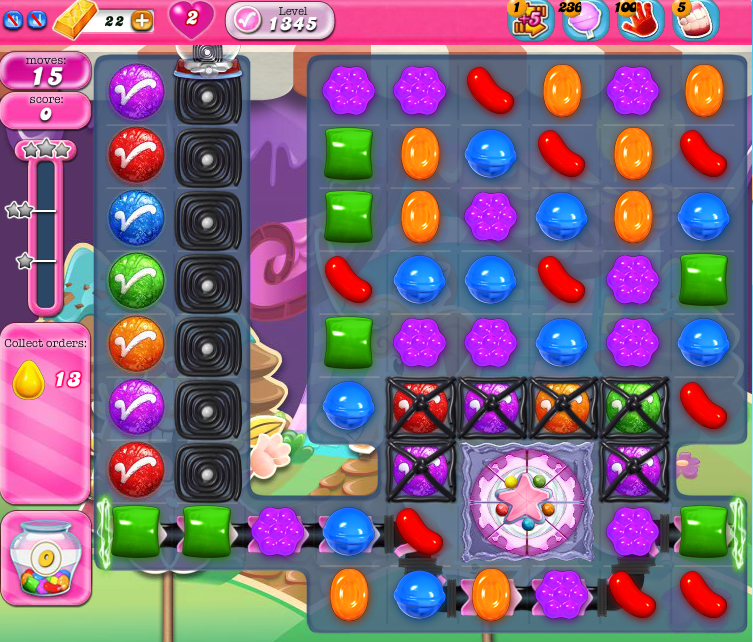 Candy Crush Saga 1345