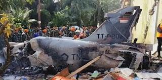TNI AU Investigasi Penyebab Pesawat Hawk 200 Jatuh