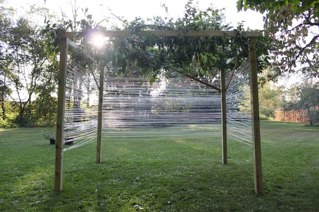 Simple DIY Yarn Sukkah | Land of Honey