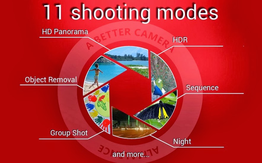 A Better Camera App With 11 Shooting Modes For Android - BOK
