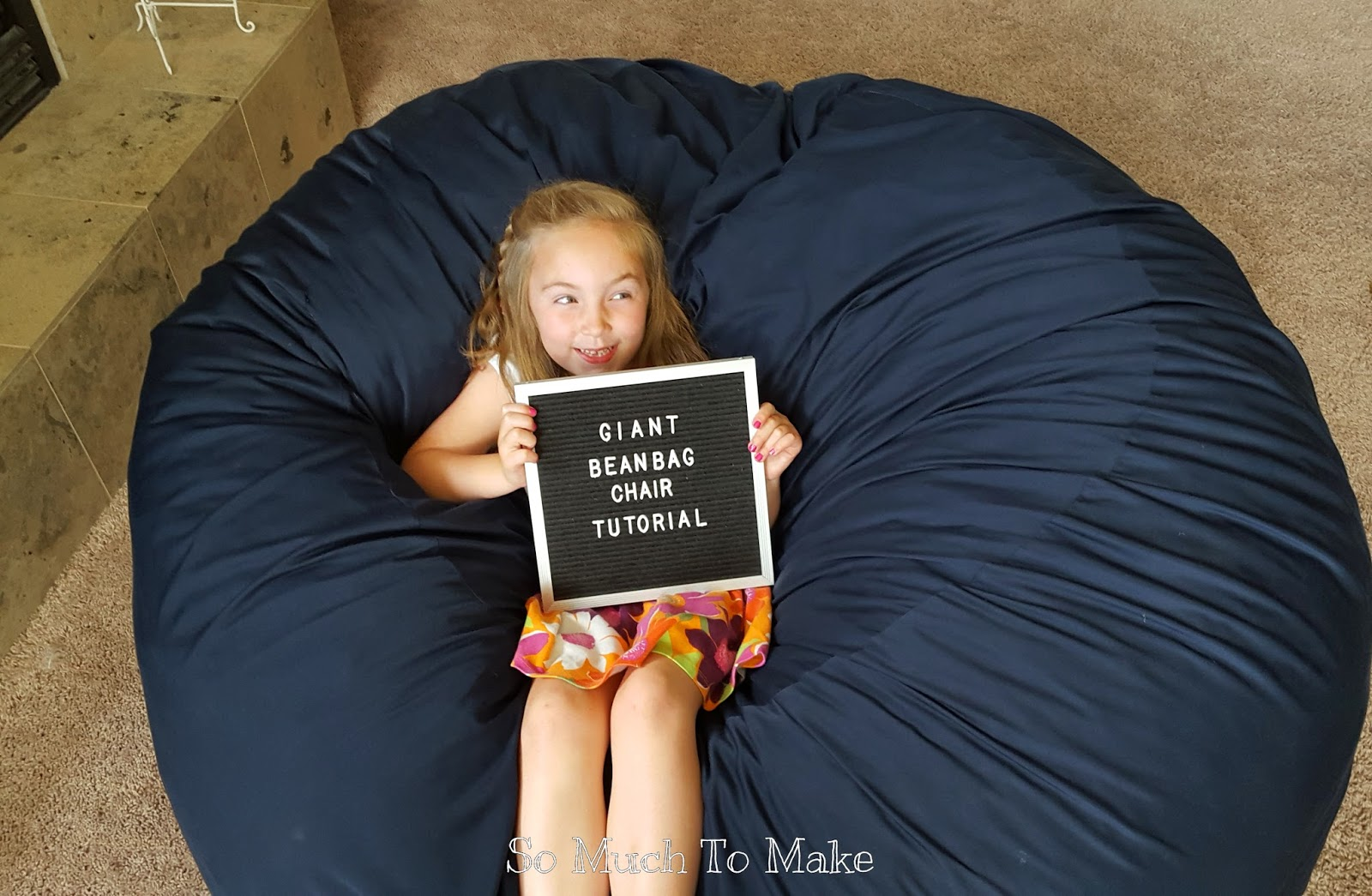 how to make bean bag chair design for debut giant tutorial so much