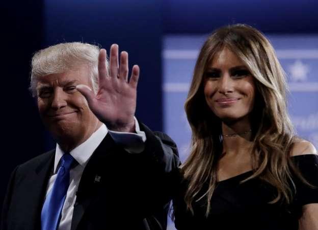 Melania Trump calls Donald's words 'offensive'