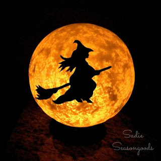 Halloween Moon Light Decoration