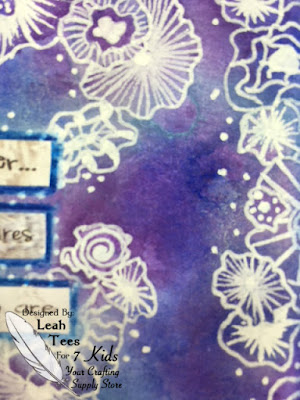 3 x 6 Art Journal, Hopes and Desires, Leah Tees, 7 Kids