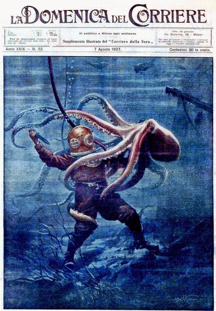 The Art of Diving: Octopus Attack!
