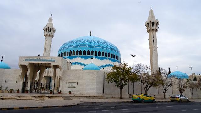 Right beside the Jordan Parliament