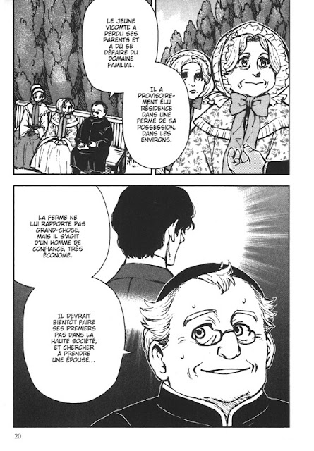 """page de """"Une vie"""" de Maupassant adapté par Sudio Variety Artworks chez Soleil Manga"""