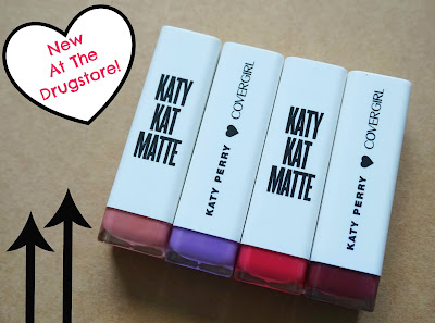 CoverGirl Katy Kat Matte Lipsticks