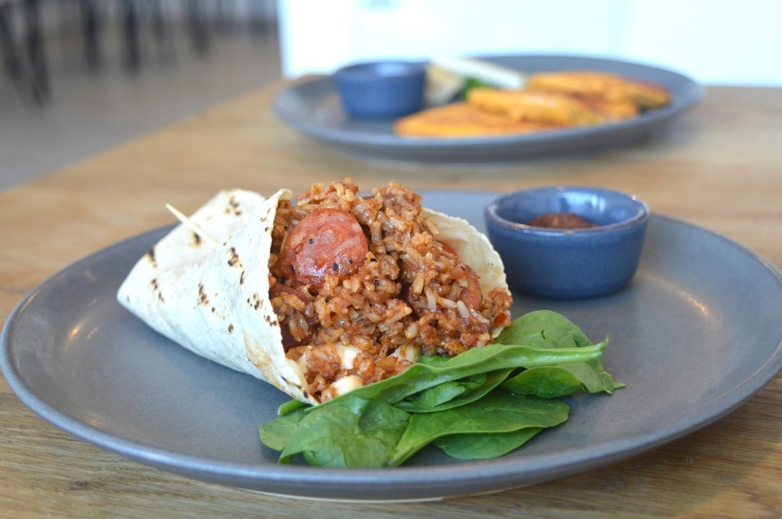 Breakfast Burrito - Dirt Health, Chillingham Rd, Newcastle
