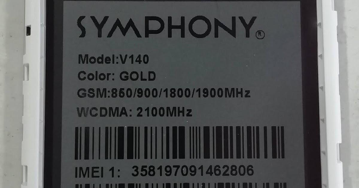 GSM ARIF: SYMPHONY V140 HW2 FLASH FILE LCD FIX MT6580 FRP FIX CARE