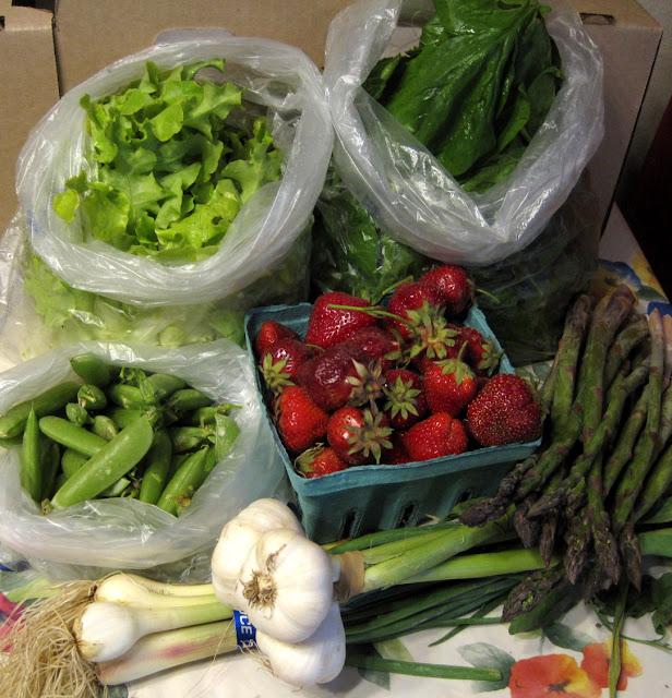 farmer's market csa box organic