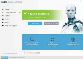Eset Nod32 internet Security Antivirus 11.2 License Keys