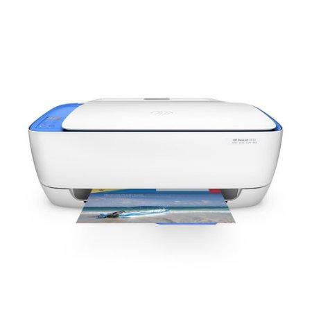 HP DeskJet 3632 printer-'E4' Error Displays (Paper Jam