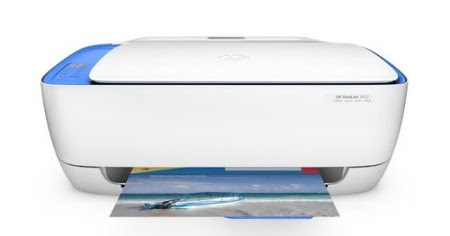 HP DeskJet 3632 printer-'E4' Error Displays (Paper Jam