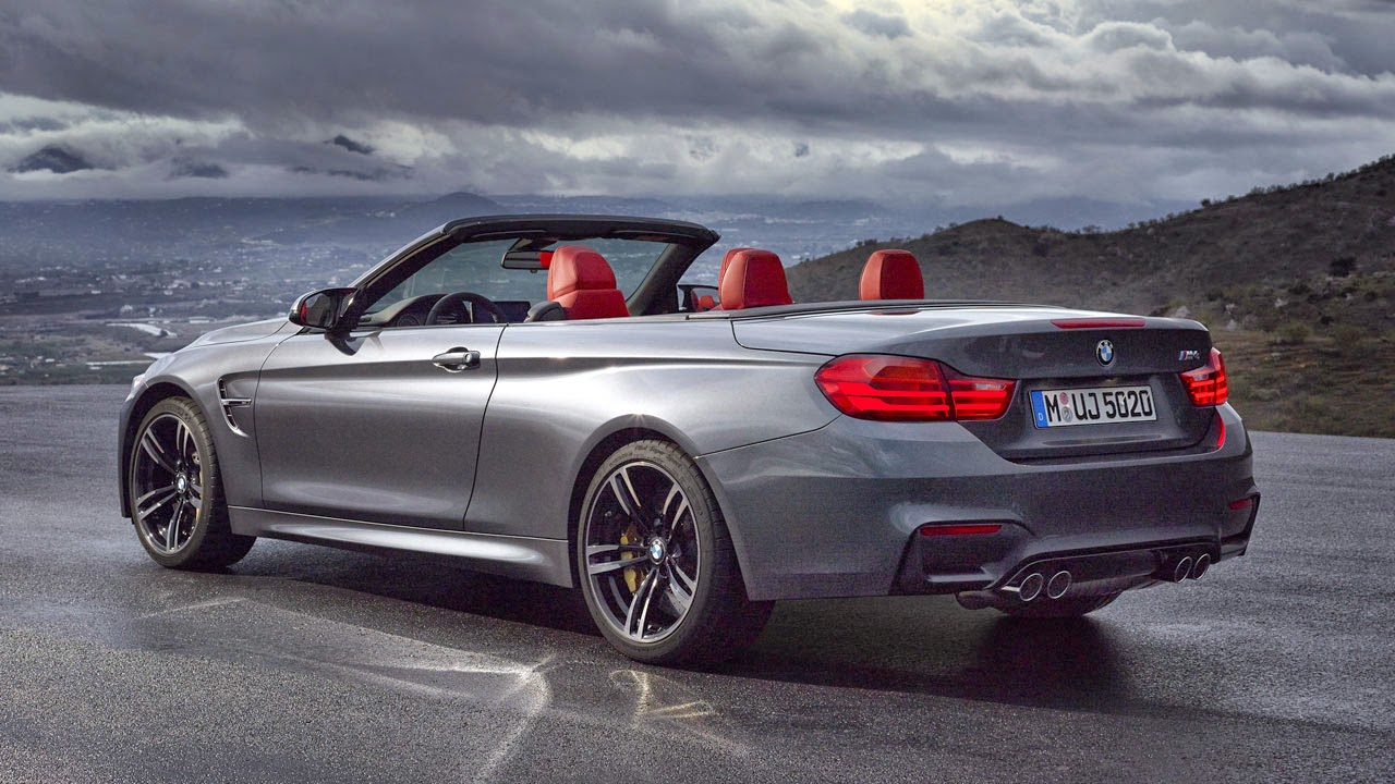 BMW M4 Convertible rear side