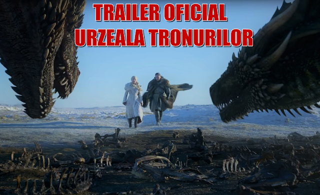 Trailer Urzeala Tronurilor sezonul 8 - ultimul sezon