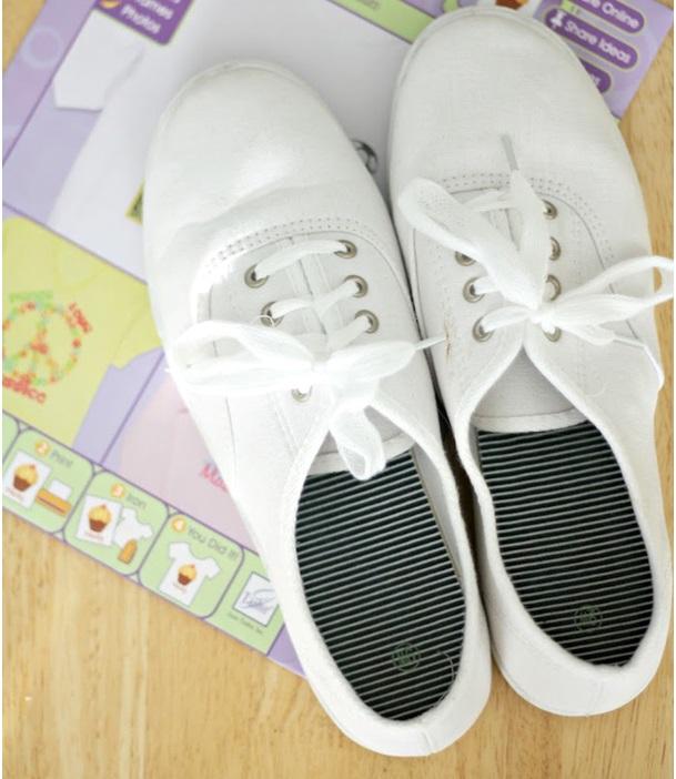 yazlık bez ayakkabı nasıl süslenir