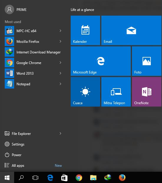 cara menonaktifkan windows update win 10