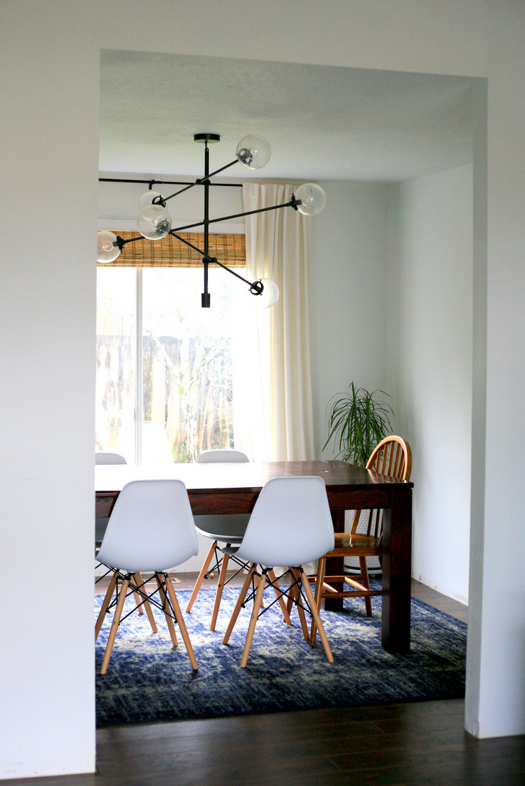 Affordable Decor And The Difference Lighting Makes Dining Room Update Crea