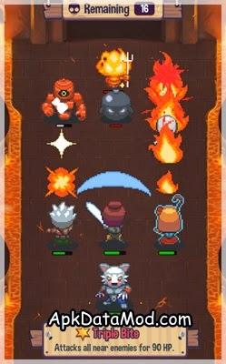 Swap Heroes 2 apk lava dungeon