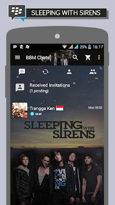 BBM Sleeping With Sirens