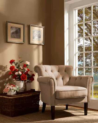 Homelegance Flared Arm Accent Chair.