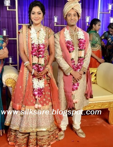 Anchor Ramya Wedding Stills