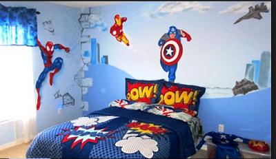 Desain Motif Wallpaper Kamar Tidur Anak Terbaik 2018 7