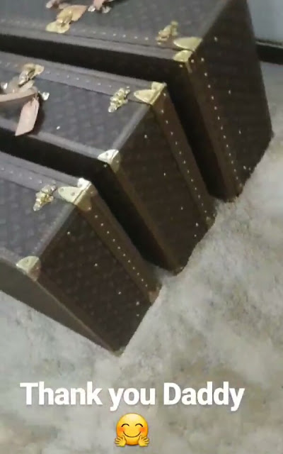 Billionaire oil mogul, Mohammed Indimi gifts his newly married daughter matching Louis Vuitton travel collection