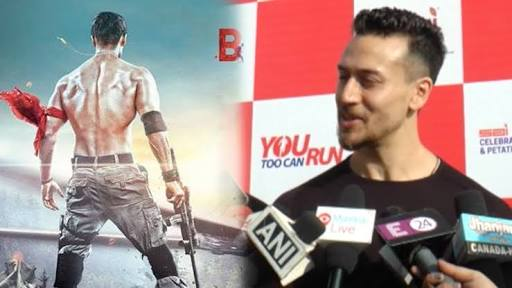 Tiger shroff new look in Baagi 2