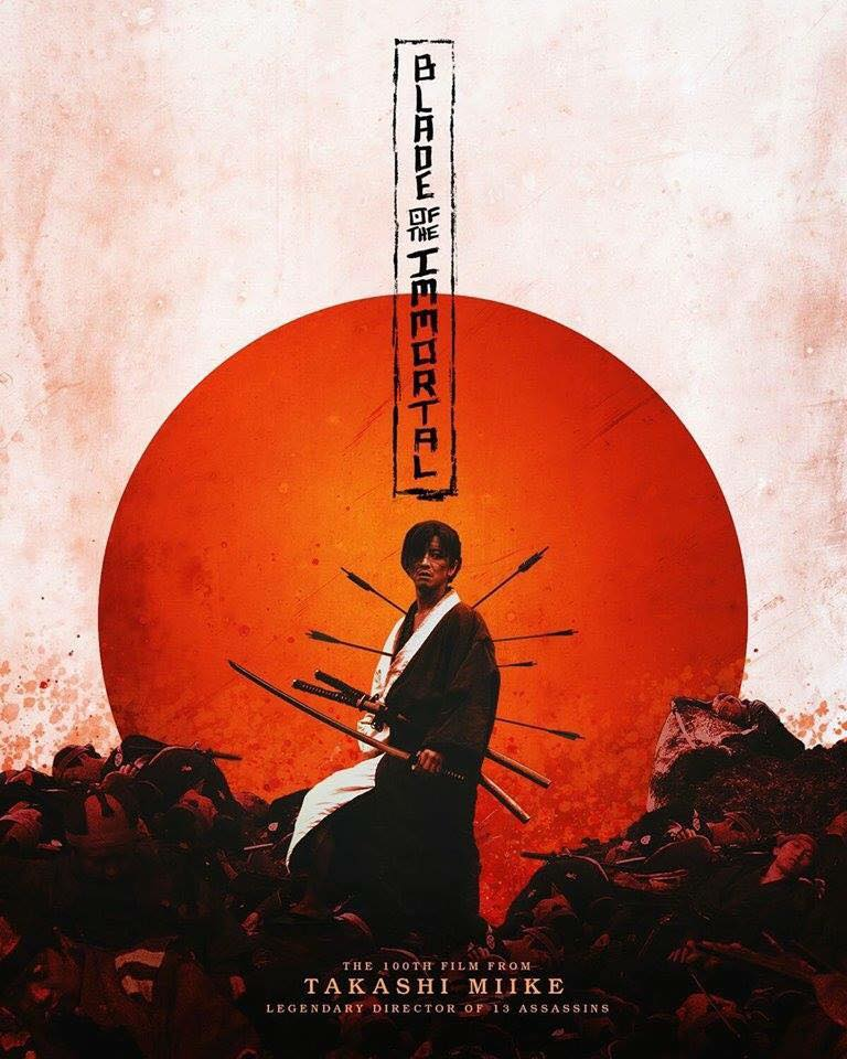 Cinematic Releases: A Fate Worse Than Death: Blade of the Immortal (2017) - Reviewed