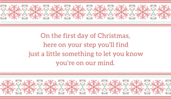 photo about 12 Days of Christmas Printable Tags called Effortlessly B: 12 Times of Xmas [Printable Tags]