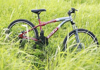 Xe đạp địa hình Shika SK3 đỏ