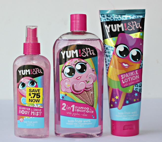 bath & body products, yum! spa