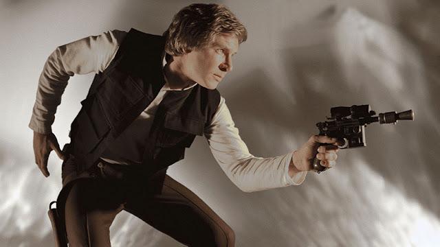 """Subastan por 550.000 dólares la icónica pistola de Han Solo en """"El retorno del Jedi"""""""