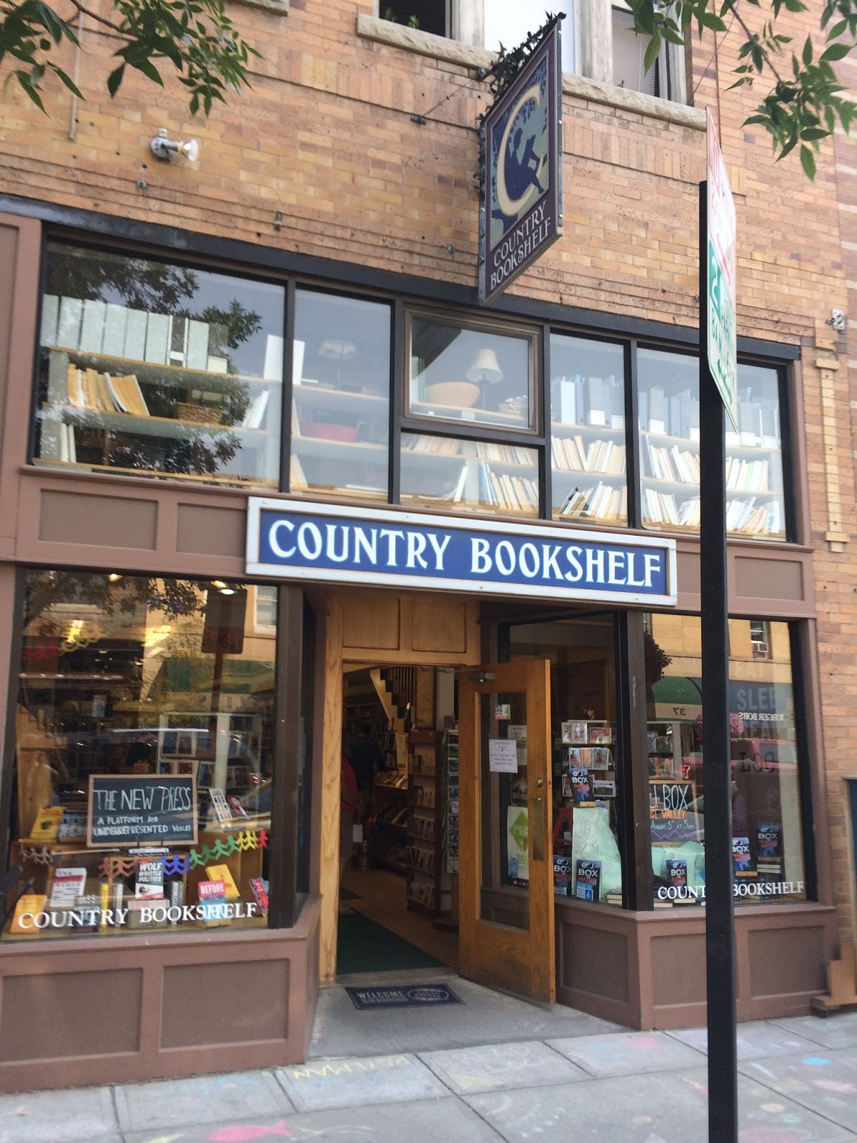 The Indie Bob Spot Country Bookshelf